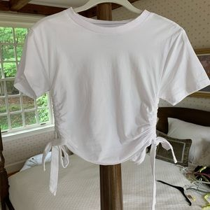 Urban Outfitters Shirred Tee